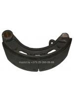 Колодка тормозная задняя правая МАЗ-4380 FAW 3502090-438043